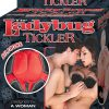 The Ladybug Tickler Silicone Massager Waterproof Red