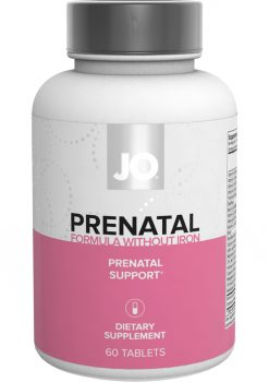 Jo Prenatal Without Iron Supplement 60 Count