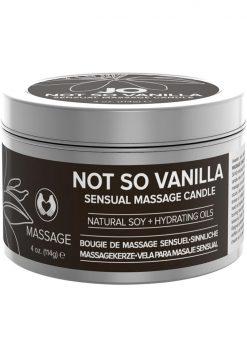 Not So Vanilla Massage Candle 4oz
