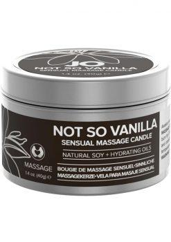 Not So Vanilla Massage Candle 1oz