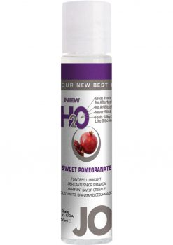 Jo H2o Flavor Lube Pomegrana 1oz 12/disp