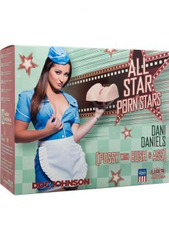 All Star Dani Daniels Pussy Bush & Ass