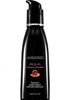 Wicked Aqua Cherry Cordial Lube 2oz