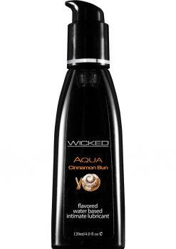 Wicked Aqua Cinnamon Bun Lube 4oz