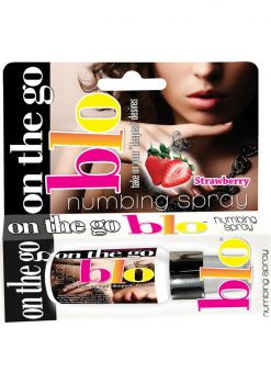 On The Go Blo Numbing Spray Strawberry 1 Oz
