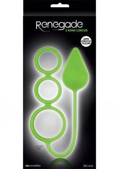 Renegade 3 Ring Circus Large Neon Green