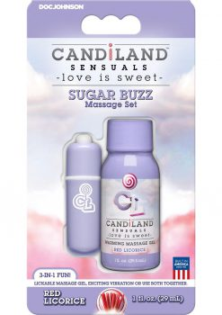 Candiland Sugar Buzz  set Red Licorice
