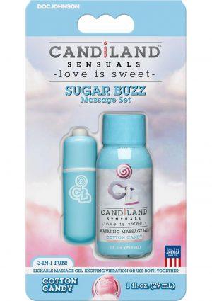 Candiland Sugar Buzz Set Cotton Candy
