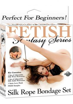 Fetish Fantasy Silk Rope Bondge Set