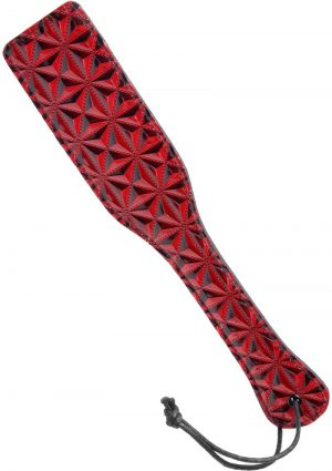 Master Series Crimson Tied Paddle Red
