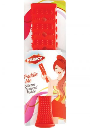 Frisky Paddle Me Silicone Paddle Red