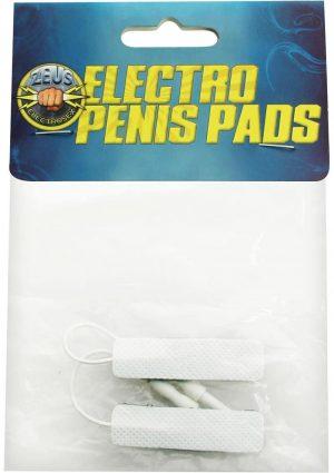 Zeus Electro Stim Adhesive Penis Pads 2pk