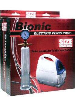 Size Matters Bionic Electric Penis Pump With Cylinder