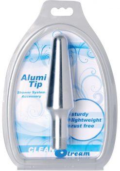 Clean Stream Alumi-tip Aluminum Enema Nozzle Tip5.5 Inch