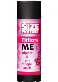 Size Matters Titilate Me Nipple and Clit Tingle Stick