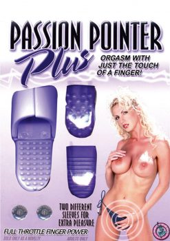 Passion Pointer Plus Finger Vibe With Sleeves Lavender