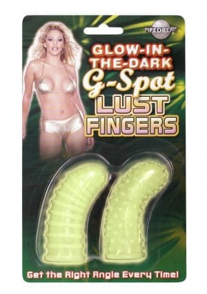 Glow In The Dark G Spot Lust Fingers