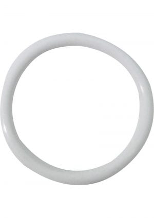 Cock Ring Simple 2 Inch White