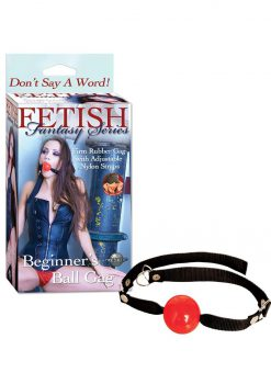 Fetish Fantasy Beginner`s Ball Gag Red