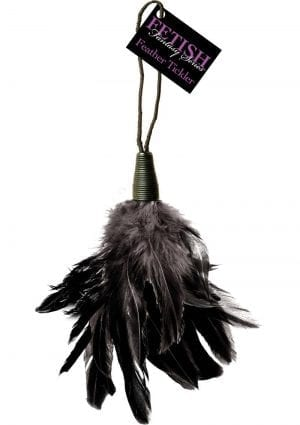 Fetish Fantasy Series Feather Tickler Black