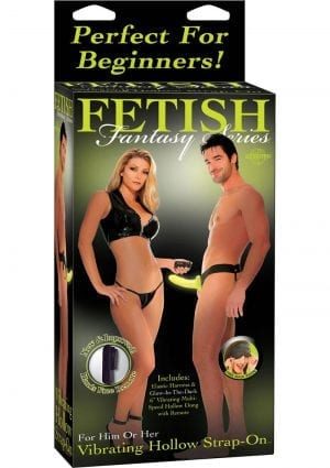 Fetish Fantasies Vibrat Hollow Strap On G I D