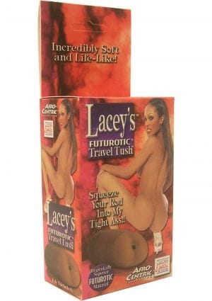 LACEYS FUTUROTIC TRAVEL TUSH AFRO CENTRIC COLLECTION MASTURBATOR BROWN