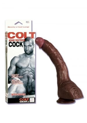 COLT COK ADAM DEXTER GENUINE CAST 8.5 INCH WITH SUCTION CUP