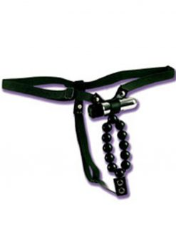 Vibrating Thong with Beads