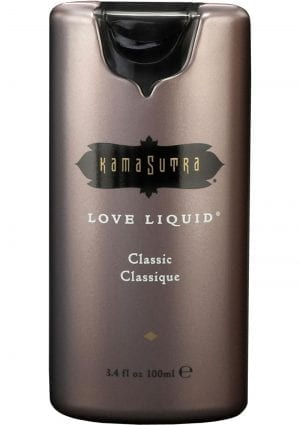 Love Liquid Classic Premium Sensual Water Based Lubricant 3.4 Ounce