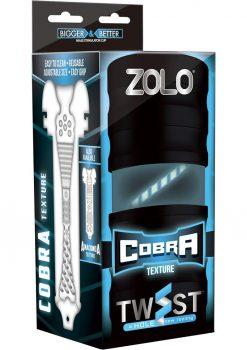 Zolo Cobra Twist Masturbator White