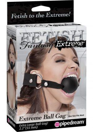 Fetish Fantasy Extreme Silicone Ball Gag