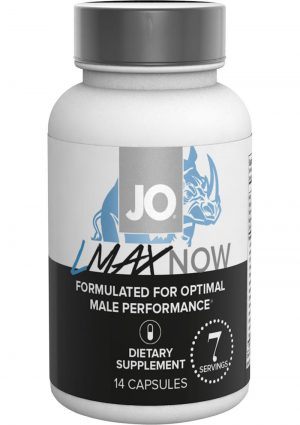 LMAX Now Male Performance Supplement 14 Capsules Per Bottle
