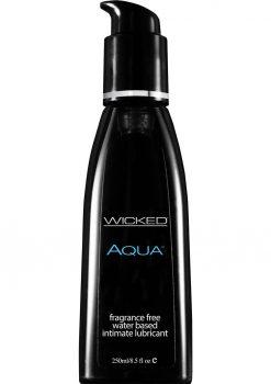 Wicked Aqua Unscented Lube 8.5oz