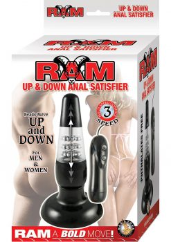 Ram Up and Down Anal Satisfier Black