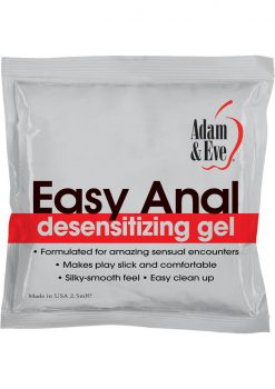 Easy Anal Foil Packs 2.5ml