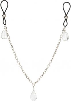 Nipple Play Non Pierce Nip Chain Crystal