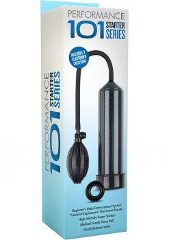 Performance 101 Starter Series Penis Pump Black