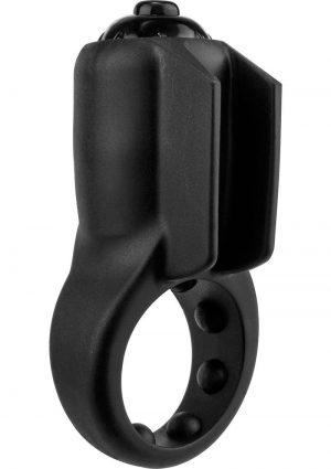 PrimO Minx True Silicone Vibe C Ring Waterproof Black