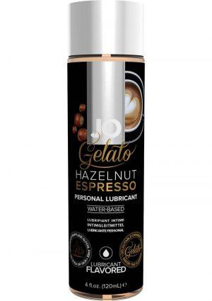 Jo Gelato Water Based Personal Lubricant Hazelnut Espresso 4 Ounce