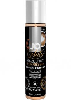 Jo Gelato Lube Hazelnut Espresso 1oz