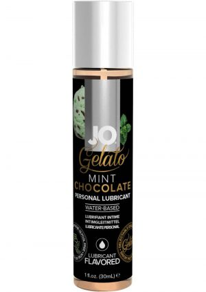 Jo Gelato Water Based Personal Lubricant Mint Chocolate 1 Ounce Bottle