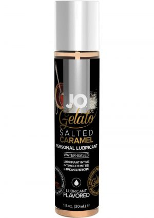 Jo Gelato Water Based Personal Lubricant Salted Caramel 1 Ounce Bottle
