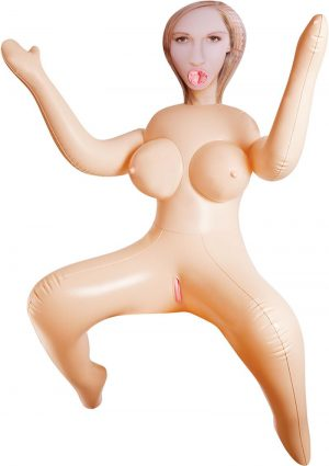 Inflatable Love Doll Rebekah Flesh
