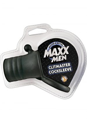 Maxx Men Clitmaster Cocksleeve Black