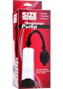Size Matter Beginner Pump Black