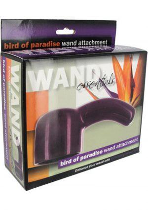 Wand Essentials Bird Of Paradise Wand Attachment Purple
