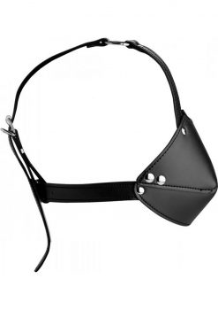 Strict Mouuth Harness With Ball Gag