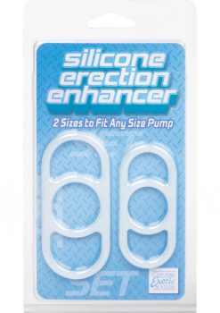Silicone Erection Enhancer 2 Each Per Set