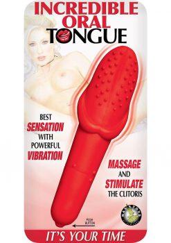 Incredible Oral Tongue Red