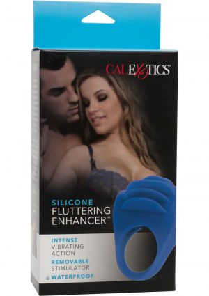Silicone Fluttering Enhancer Blue